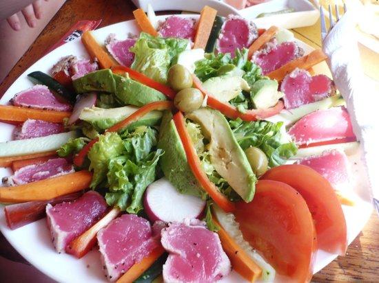Hotel Las Tortugas : fantastico sashimi di tonno
