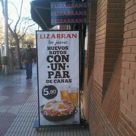Lizarran: promocion