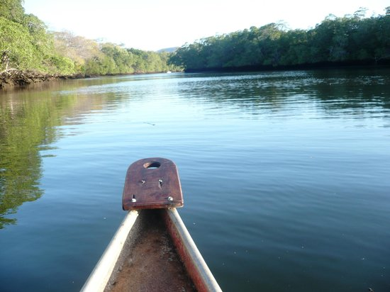 Hotel Las Tortugas : la gita in canoa prenotabile in reception