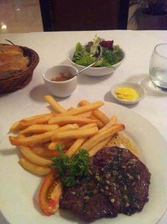 La P'tite France: The famous Steak-Frites