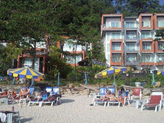 Kamala Beach: Отель Новотель на пляже Камала