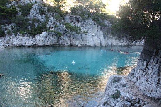 Destination Calanques Kayak Cassis: Пляж