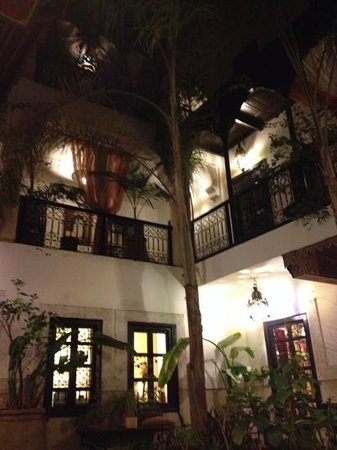 Dar el Souk: the beautiful riad at night
