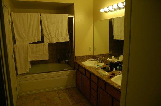 Club de Soleil All-Suite Resort : Bathroom