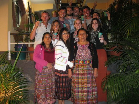 Hotel Tepepul Kaan: friends