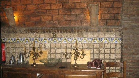 La Casa del Cofrade : Kælderen, hvor der var vinsmagning