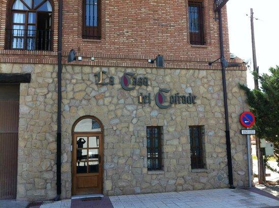 La Casa del Cofrade : Hotellet set fra vejen
