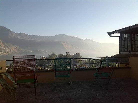 Hotel Tepepul Kaan: dawn