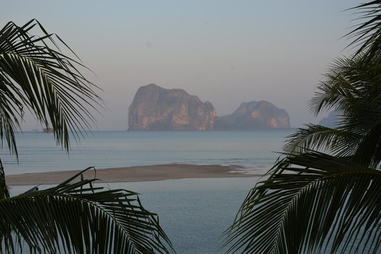 Sikao, Thailand: View on magnificent islands