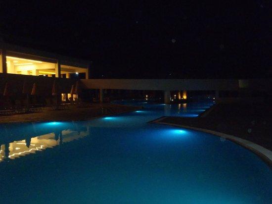 Holiday Village Kos by Atlantica : Pool at night