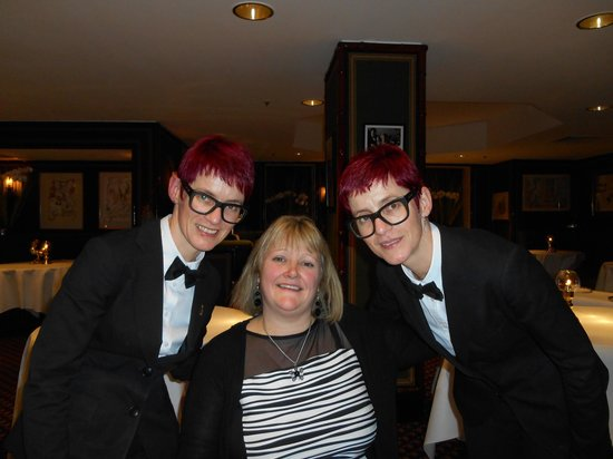 Le Gavroche: Me and the twins