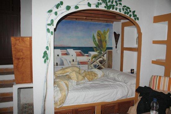 El Cobijo de Vejer.: cozy bed