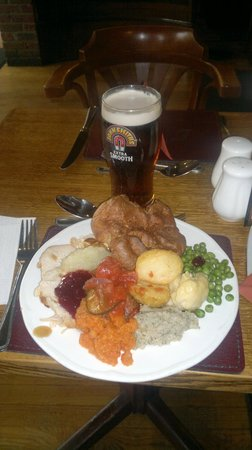 Russells of Coppergate: Full plate