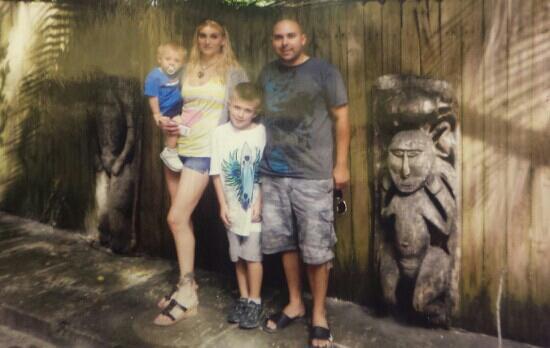 Sarasota Jungle Gardens : photo op
