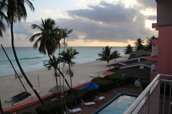 Dover beach from Southern Palms hotel