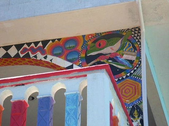 Crayola House: One of many murals