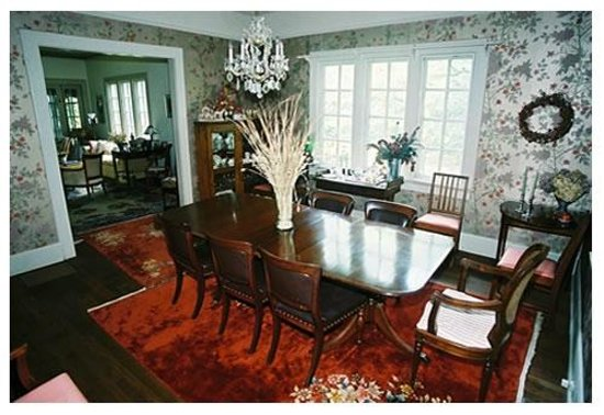 Inman Park Bed and Breakfast: Dinning room