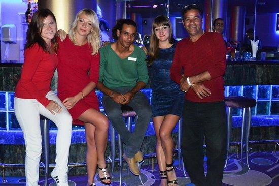 Hilton Hurghada Plaza: At the disco Club 35