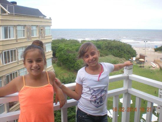 Costa Carilo Apart Hotel & Spa de Mar : vista del balcon