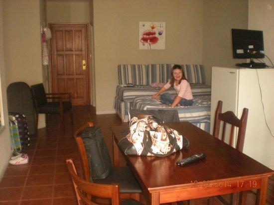 Costa Carilo Apart Hotel & Spa de Mar : habitacion planta baja