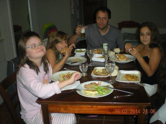 Costa Carilo Apart Hotel & Spa de Mar: cenando