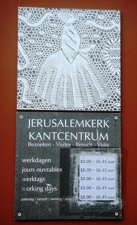 Jerusalem Church (Jeruzalemkerk): Курсы фламадских кружевниц при церкви