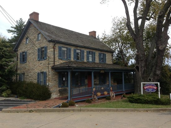 Brew'D Pub: Historic Buiding
