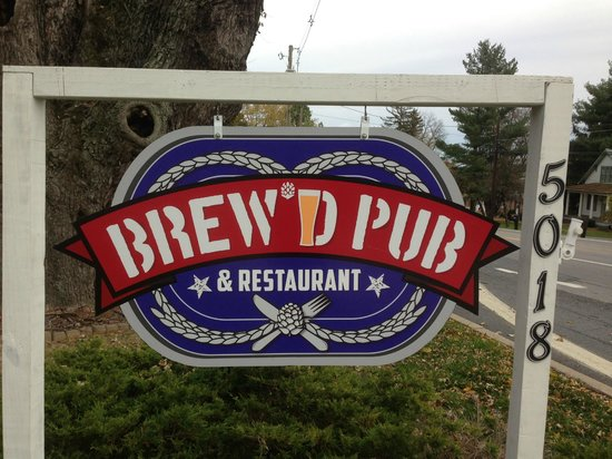 Brew'D Pub: Classic pubic house:  family friendly food and drink