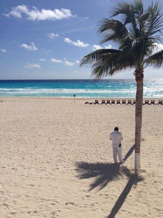 Hyatt Zilara Cancun : view of Beach from pool