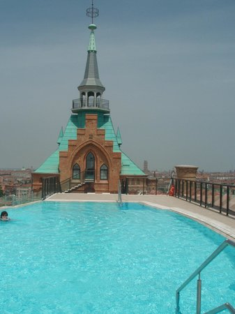 Hilton Molino Stucky Venice Hotel: Rooftop Swimming Pool