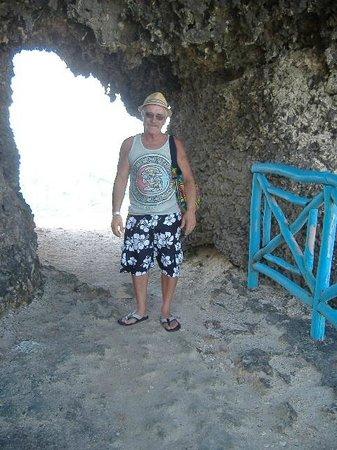 Tunnel at Punta Sur