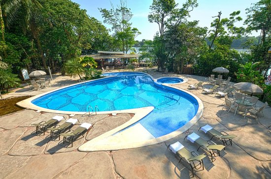 Pachira Lodge: Piscina