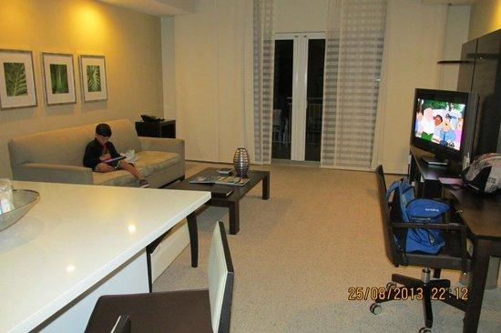 Provident Doral at The Blue Miami : Living-comedor