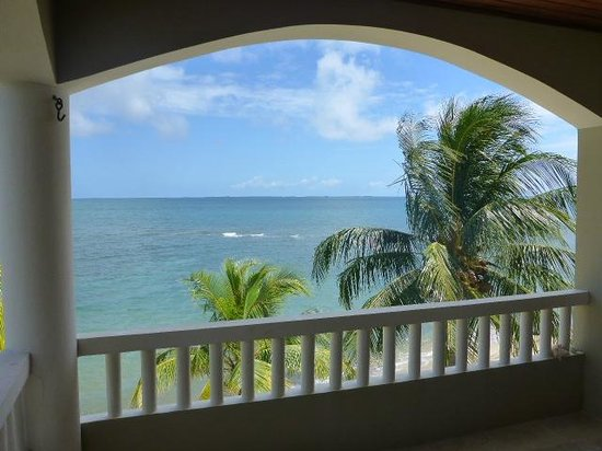 Los Porticos Villas: view from patio