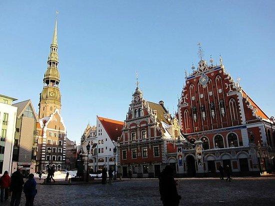 Riga Town Hall Square: Ayuntamiento de Riga