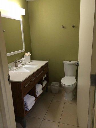 Home2 Suites by Hilton San Antonio Downtown - Riverwalk : Beautiful Bathroom