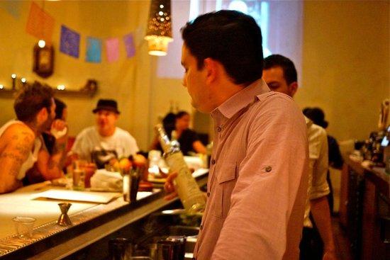 Tamarindo Antojeria Mexicana: The busy bar scene