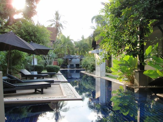 Montra Hotel : Pool view