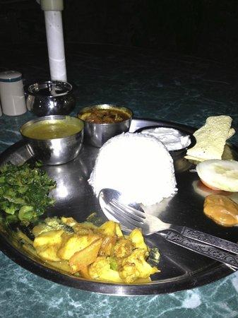 Hotel Florid Nepal : repas