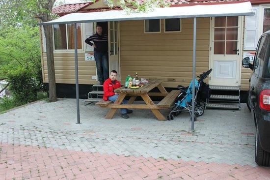 Camping Village Roma: завтрак