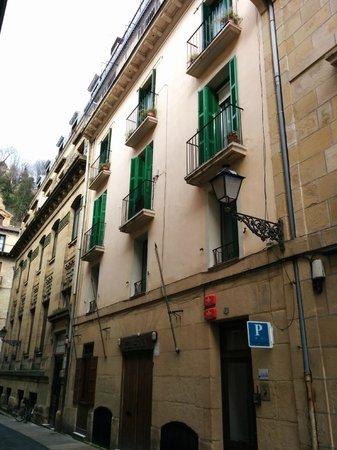 Pension Iturriza: Fachada del edificio