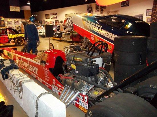 NC Auto Racing Hall of Fame : NCARHOF Drag Racing display