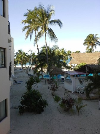 Hotel Posada Del Mar : View from our deck