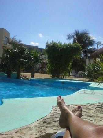 Hotel Posada Del Mar : Lovely pool area