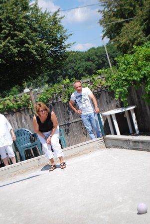 Tumea & Sons: Fun on the Bocce Court.