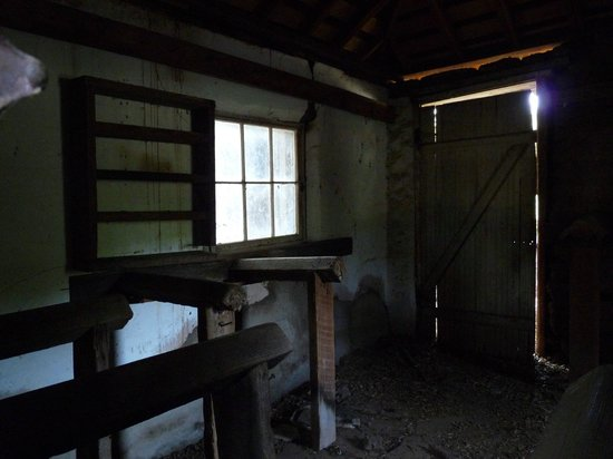 Santa Rosa Plateau Ecological Reserve : inside the smallest building