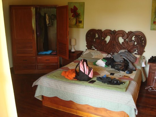 Hotel Dos Rios : Sorry for the mess- the room was nice when we walked in, promise!
