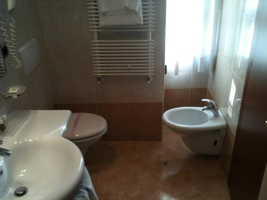 BEST WESTERN Hotel Master : Bagno