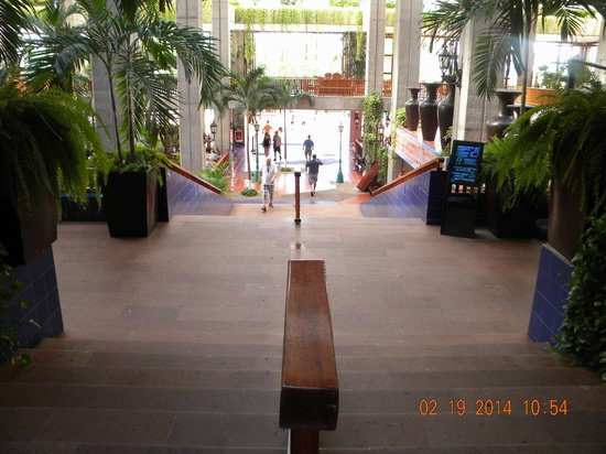 Meliá Puerto Vallarta All Inclusive: what you walk into when you arrive -lobby area