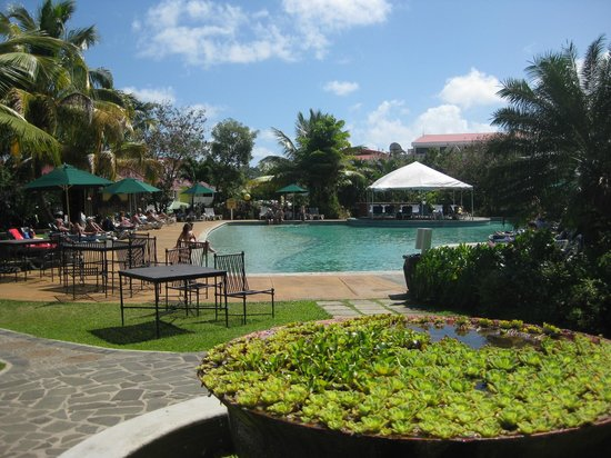 Coco Palm Resort : View of the Pool
